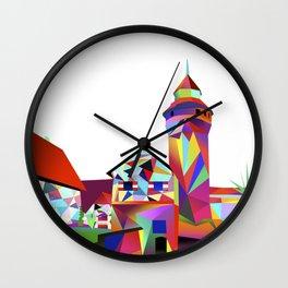 Sinwellturm Nuremberg Wall Clock