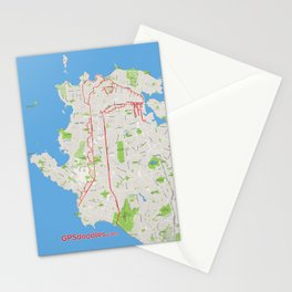 The sea serpent of Haro Strait Stationery Cards