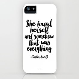 Quote,Swift Quote,Typography Print,Pardon My French,Inspirational Quote,Wall Art,Girls Room iPhone Case