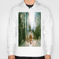 hobbit Hoodies featuring HOBBIT HOUSE by FOXART  - JAY PATRICK FOX