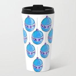 Blue bulbs Travel Mug