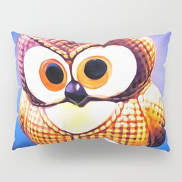 Ceramic Owl Pillow Sham