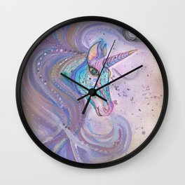 Mystic Unicorn Wall Clock