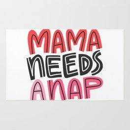Mama Needs a Nap Rug