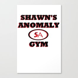 Shawn's Anomaly Gym Canvas Print