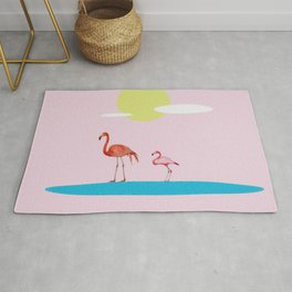 Flamingo Route  Rug