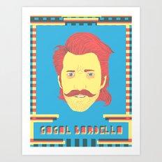 Gogol Bordello Art Print