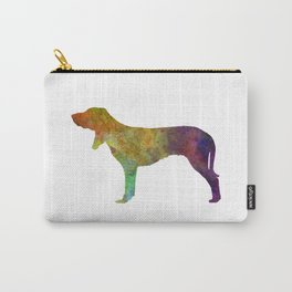 Swiss Hound in watercolor Carry-All Pouch