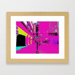 See life in color Framed Art Print