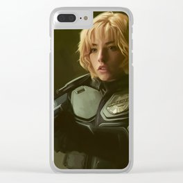 Judge Anderson Dredd Clear iPhone Case