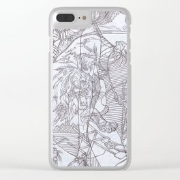 Formidable Clear iPhone Case