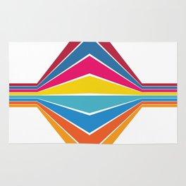 RAINBOW Abstract Art Rug