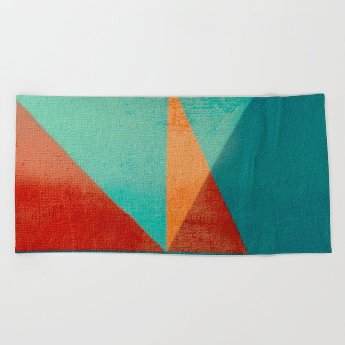 Sailing in River Mouth Beach Towel
