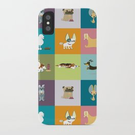 Who let the dogs out? iPhone Case
