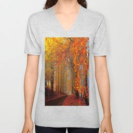 Autumn Parade Unisex V-Neck