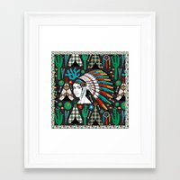 southwest Framed Art Prints featuring Southwest by Vannina