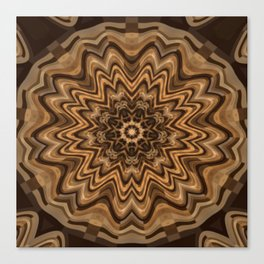 Sequential Baseline Mandala 34 Canvas Print