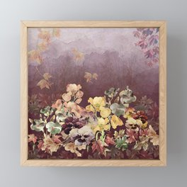 Fading in to Fall Framed Mini Art Print