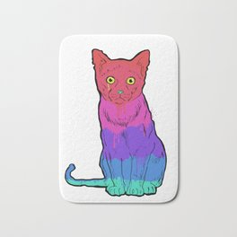 Graffiti Cat Bath Mat
