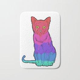 Graffiti Cat Bath Mat