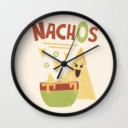 NachOs Wall Clock
