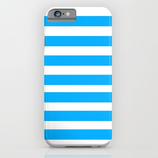 Blue Lines iPhone & iPod Case