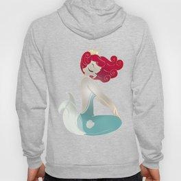 Pin Up Mermaid   Hoody