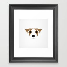 this is my dog Framed Art Print