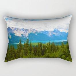 Bald Hills Hike in Jasper National Park, Canada Rectangular Pillow