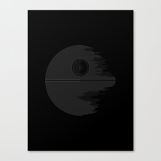 Minimalist Battlestation Canvas Print