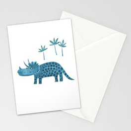 Triceratops Dinosaur Stationery Cards