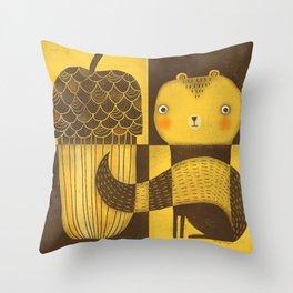 BIG SERVING Throw Pillow