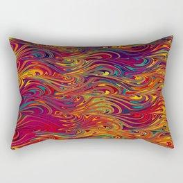 Wave Of Colors 2 Rectangular Pillow