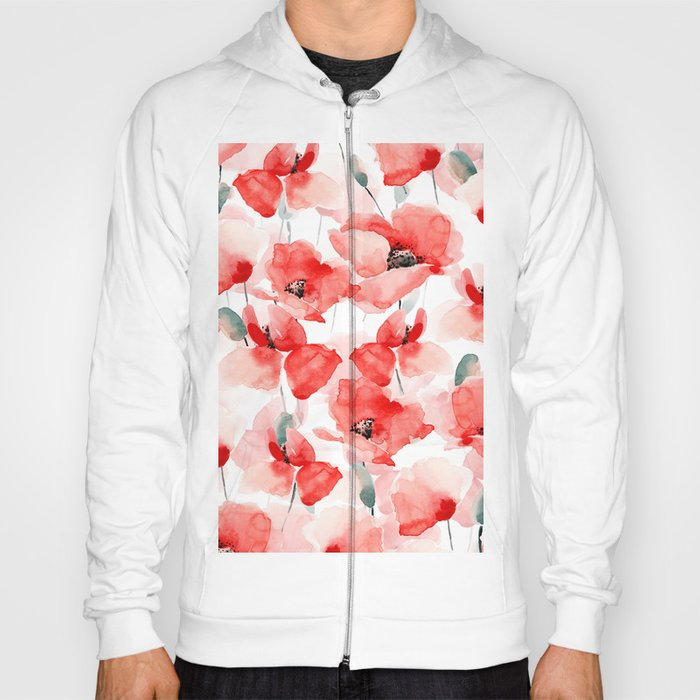 Poppies Hoody