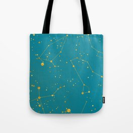 Northern Celestial Hemisphere Tote Bag