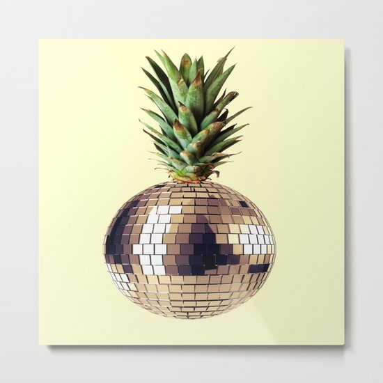 ananas party (pineapple) Metal Print