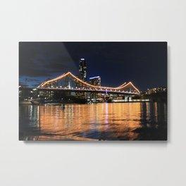 Story Bridge, Brisbane Metal Print
