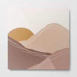 rose mountain Metal Print