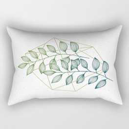 Geometry and Nature III Rectangular Pillow