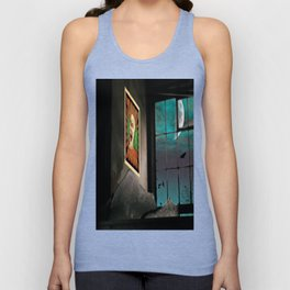 A very Haunted House Unisex Tank Top