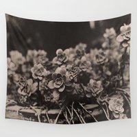 plant Wall Tapestries featuring Plant by Patrick Takata