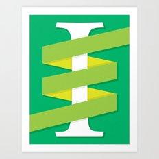 One (I) Art Print