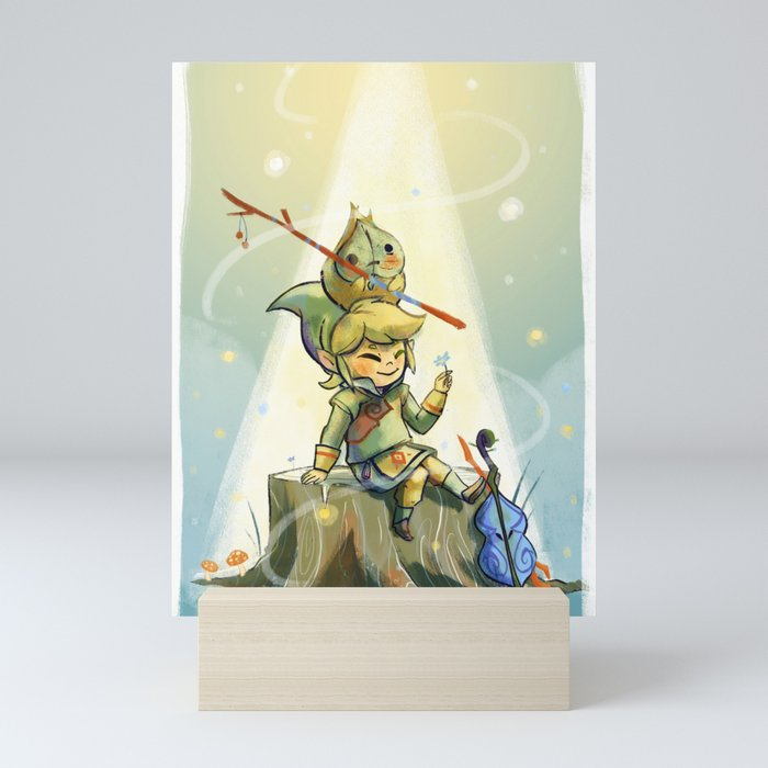 Forest Aria Mini Art Print