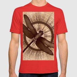 Steampunk - Mechanical Dragonfly T-shirt