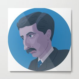 Queer Portrait - E. M. Forster Metal Print