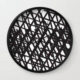 Chainlink texture Wall Clock
