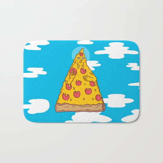 Pizza Be With You Bath Mat