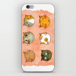 Happy Caturday  iPhone Skin