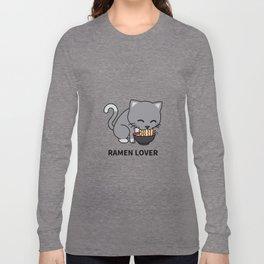Ramen Cat Long Sleeve T-shirt