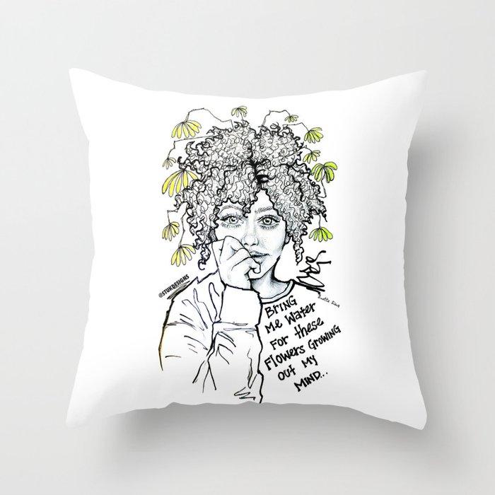 #STUKGIRL SUMMER Throw Pillow